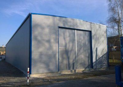 Satteldachhalle Schnellbauhalle Schnellbauhallenservice REMA service in Weißenfels