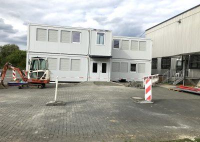 Wohnraumzellen Wohnraumzellenservice Containerheim REMA service in Weißenfels